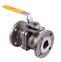 Merit Brass ASME Class 150 & 300 Flanged End Ball Valve