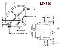 MATRYX® Vane Actuators MX (MX750)