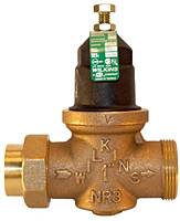Model NR3 Water Pressure Reducing Valve with Integral By-pass check Valve and Strainer