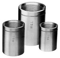 Product Image - Extra Strong (XS) Right and Left Steel Couplings